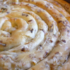Handmade Pastry with Leek and Feta (Tegnato Maznik so Pras i Sirenje)