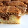 'Queen Cake' – a vanilla, chocolate and walnut swirl cake
