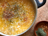 Sauerkraut and rice soup (Borania)
