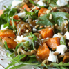 Sweet Potato, Caramelised Onion and Goats Cheese Salad