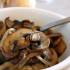 Pan-fried Mushrooms with Onion (Przeni Pechurki)