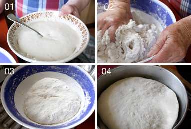 Making bread process
