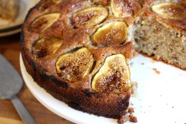 Rustic Fig Cake