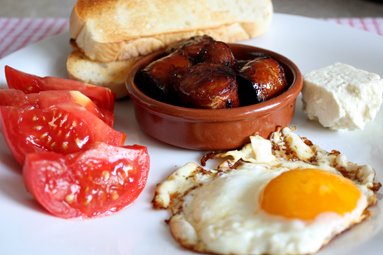 A big Macedonian breakfast